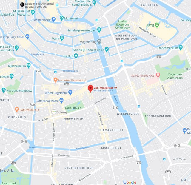 google-map-fresh2go-vanwoustraat